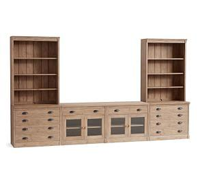 Lucca Large Entertainment Center with Drawers