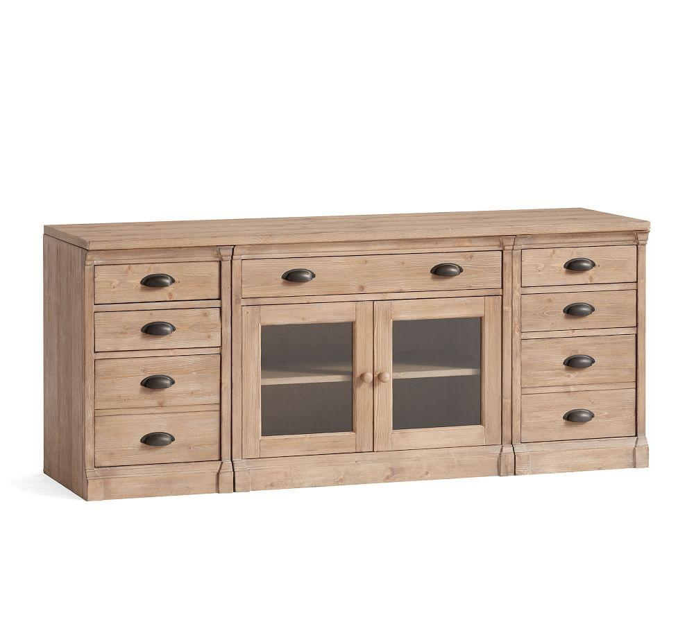 Lucca Small TV Stand with Drawers