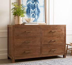 Menlo Reclaimed Teak 6-Drawer Extra Wide Dresser