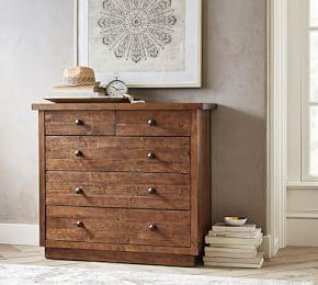 Novato Reclaimed Wood 5-Drawer Dresser