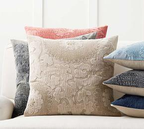 Elmira Embroidered Pillow Cover