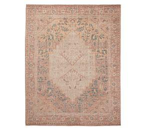 Yuna Hand-Knotted Rug - Blush Multi
