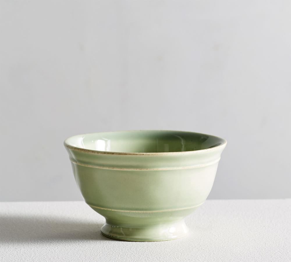 Cambria Stoneware Small Footed Snack Bowl