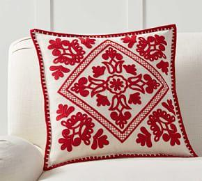 Elsie Embroidered Pillow Cover