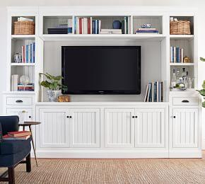 Aubrey 6-Piece Entertainment Center