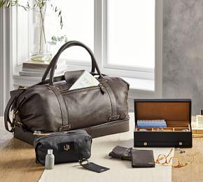 Grant Leather Travel Collection