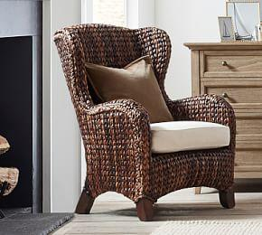 Seagrass Wingback Armchair