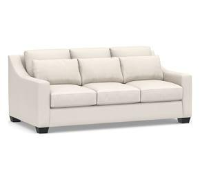 York Slope Arm Upholstered Deep Seat Sofa