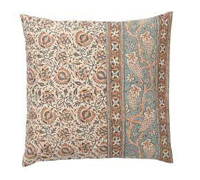 Selena Kalamkari Cotton Sham - Multi