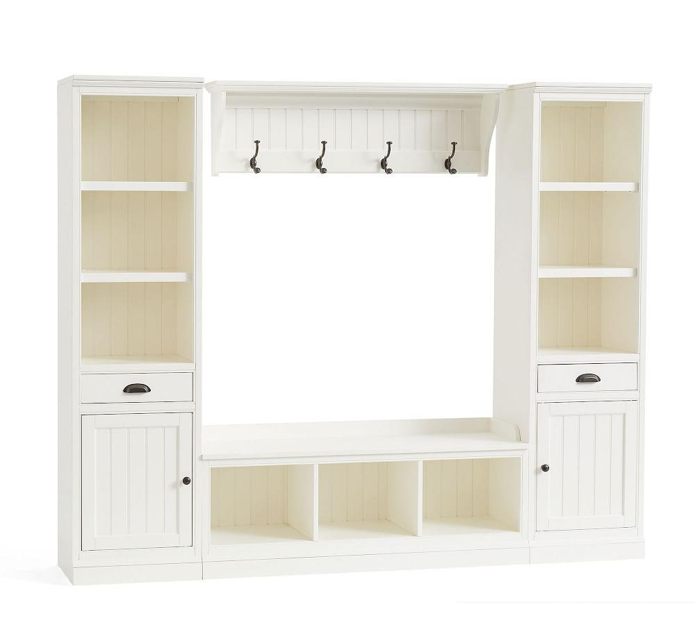 Aubrey 4-Piece Entryway Set With Cabinets