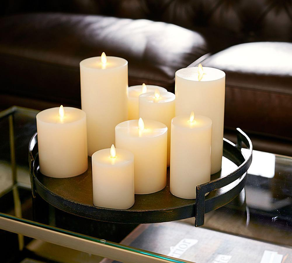 Barrett Cast Candle Trays