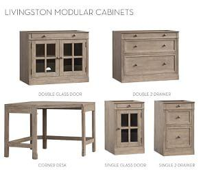 Build Your Own Modular - Livingston Collection, Gray Wash