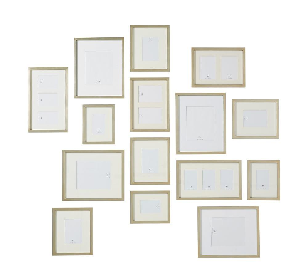 Gallery in a Box Frames – Champagne