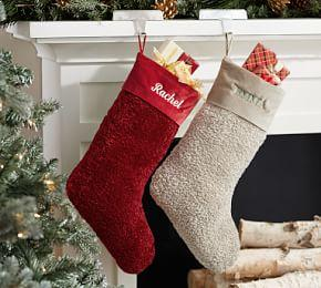 Personalized Cozy Teddy Stockings