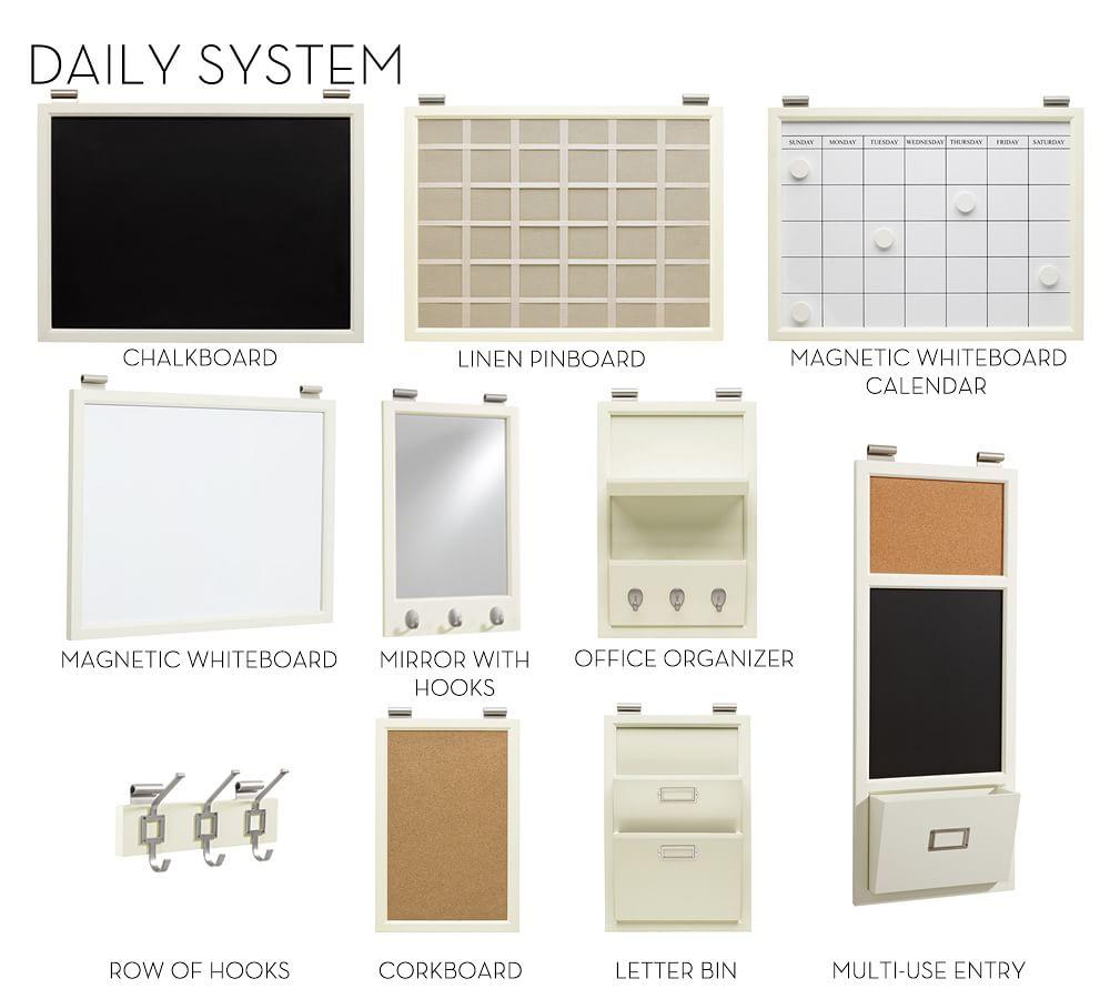 Build Your Own - Daily System Components - Creamy White