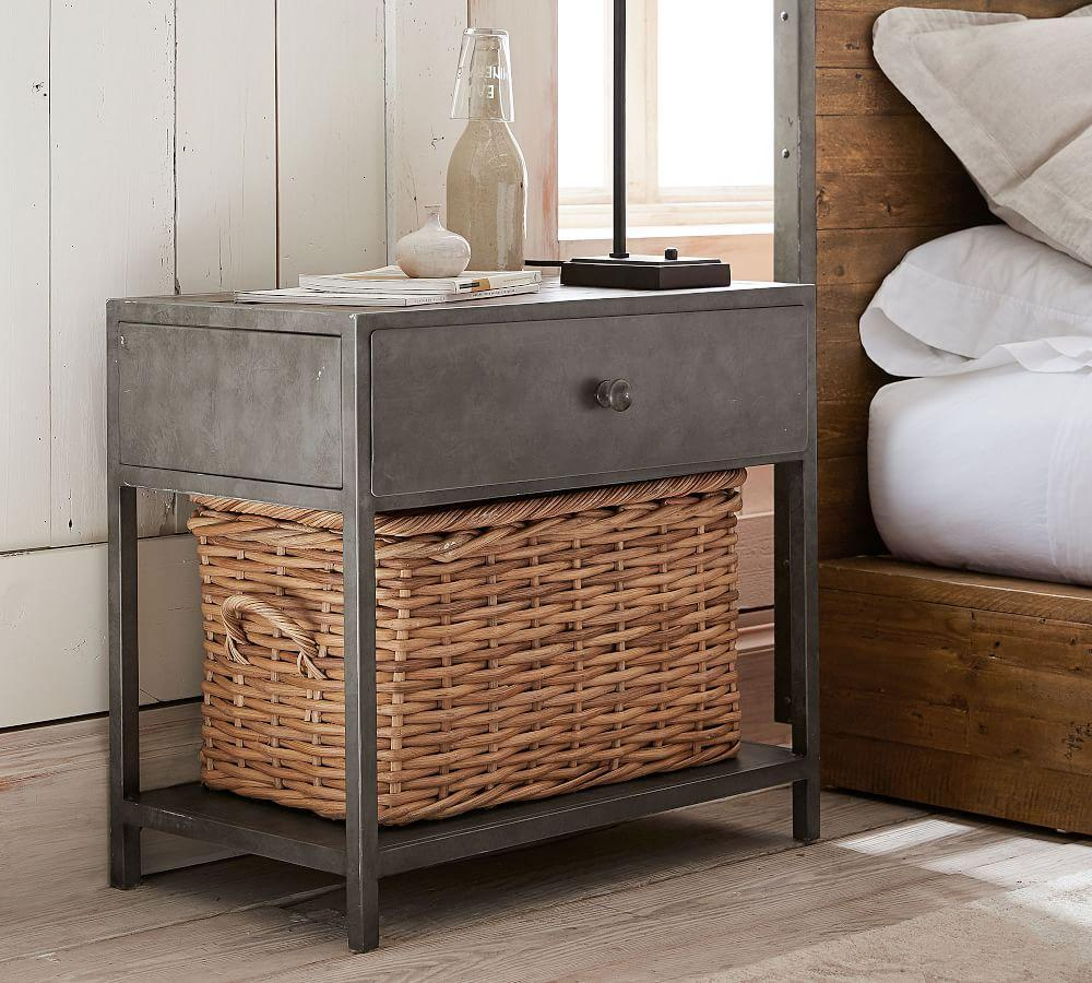 Big Daddy's Antiques Metal Nightstand