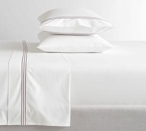 Grand Organic Percale Sheet Set