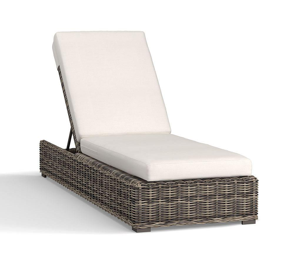Huntington All Weather Wicker Single Chaise
