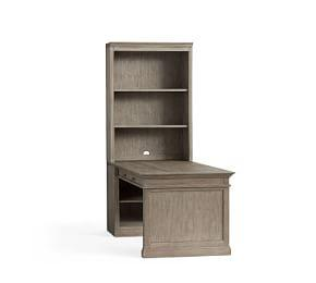 "Livingston 35"" Peninsula Desk Office Suite"