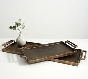 Long Metal Tray