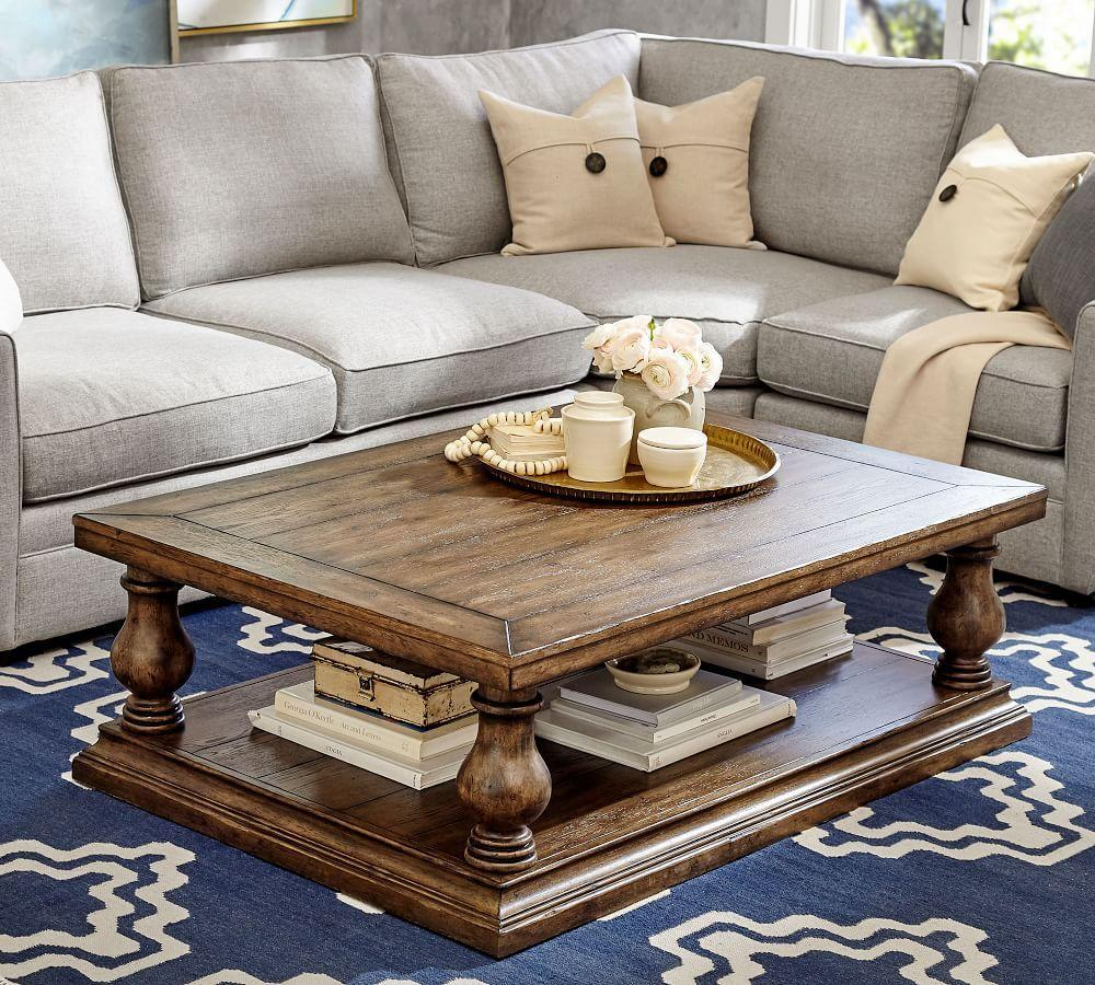 Lorraine Coffee Table Pottery Barn Ca