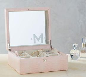 Mckenna Leather Medium Jewelry Box