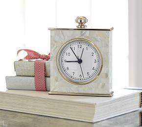 Mother of Pearl Clock