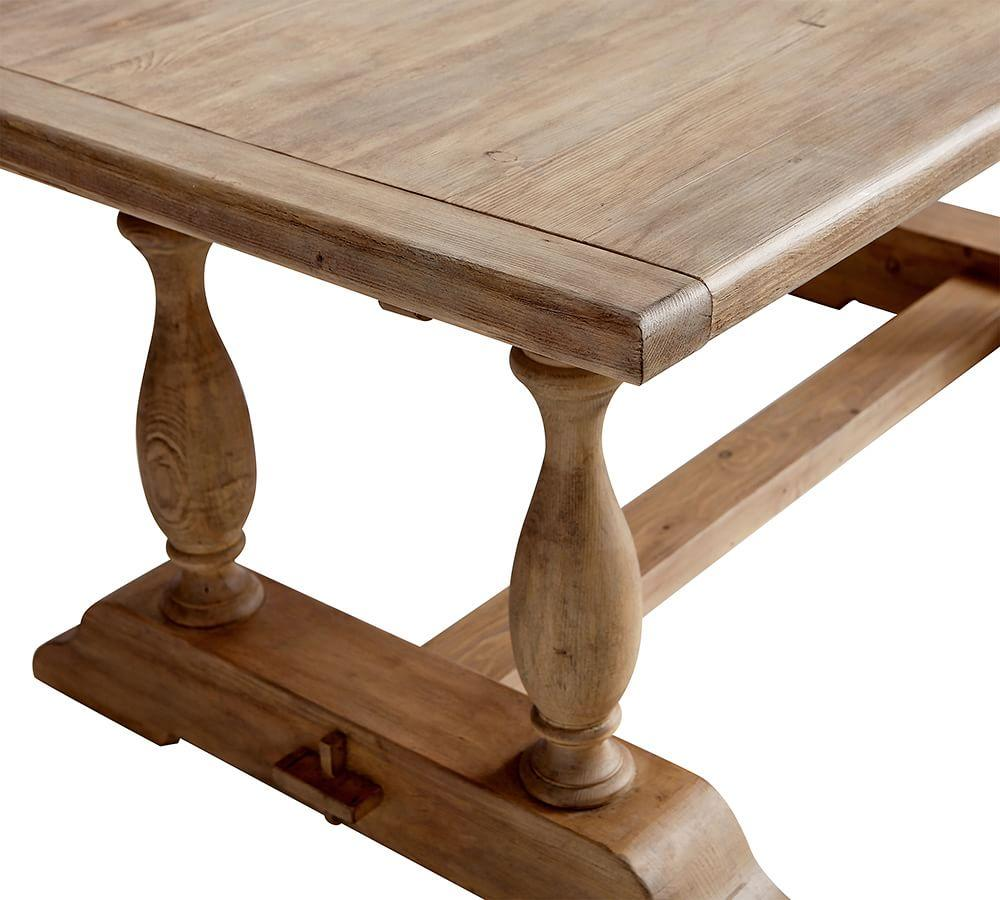 Parkmore Reclaimed Wood Extending Dining Table Pottery