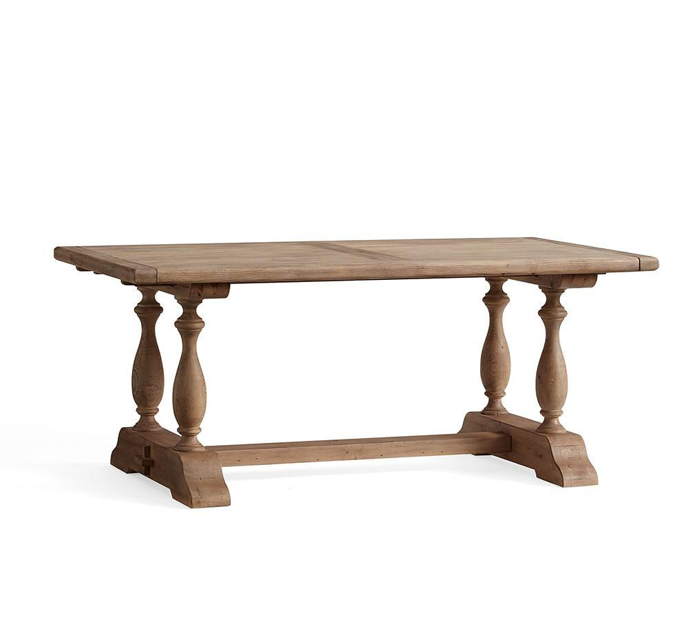 Parkmore Reclaimed Wood Extending Dining Table
