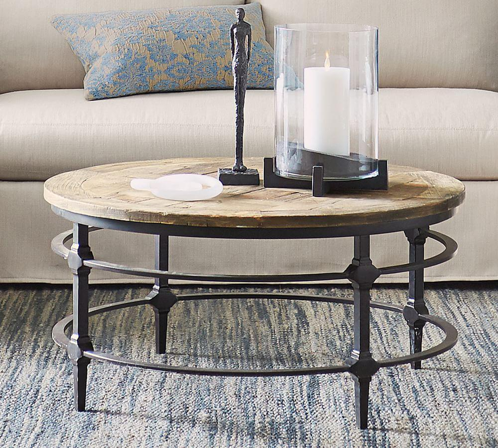 Parquet Coffee Table Pottery Barn