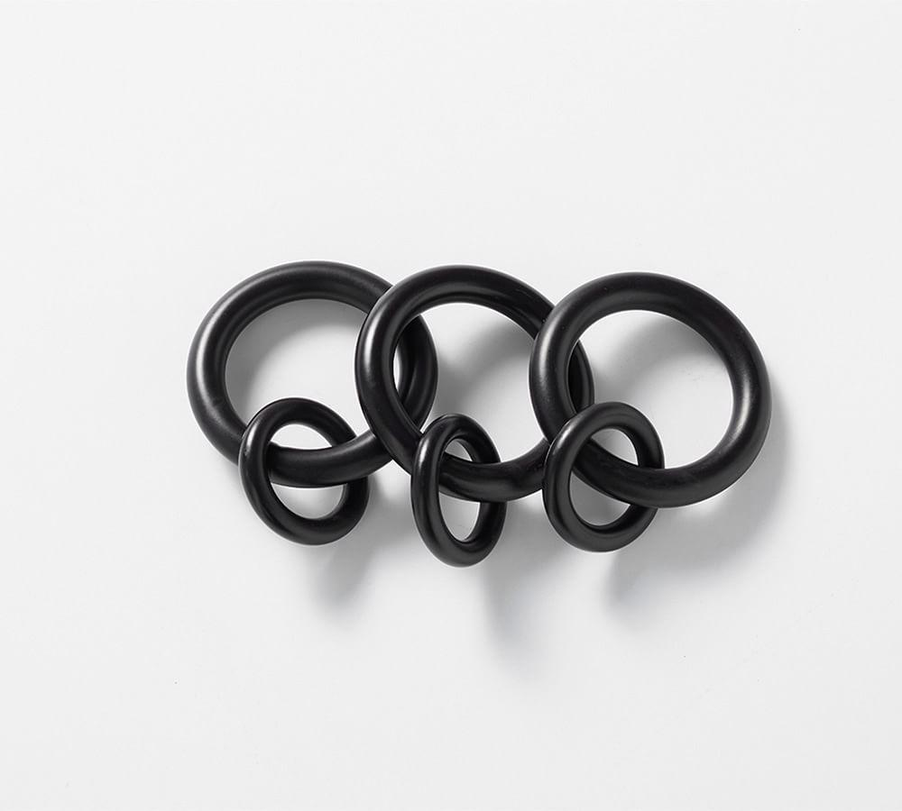 PB Standard Round Rings - Antique Bronze Finish