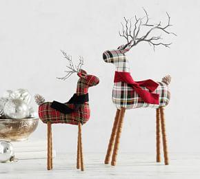 Plaid Reindeers