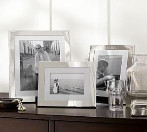 Personalized Silver-Plated Engravable Frames