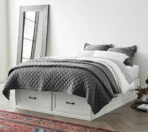 Stratton Storage Platform Bed Frame with Drawers