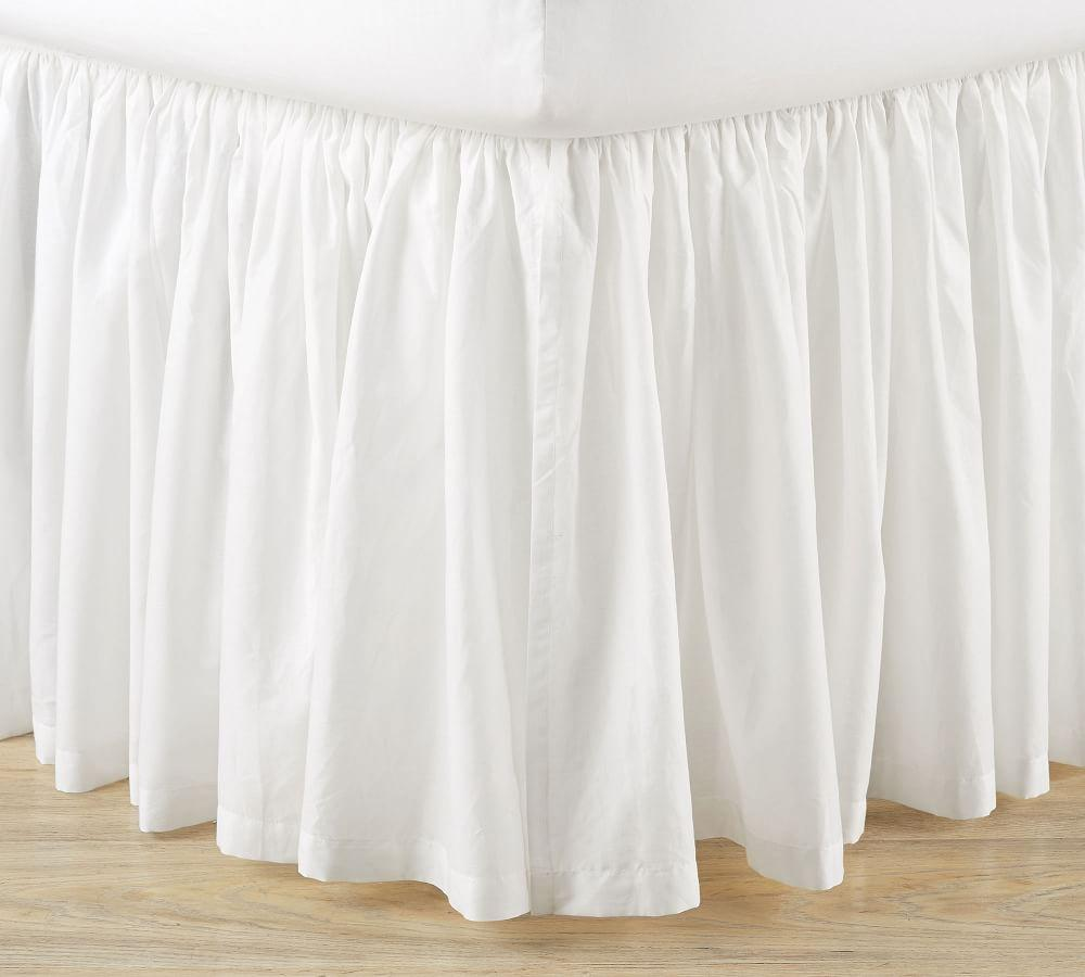 Voile Cotton Bed Skirt