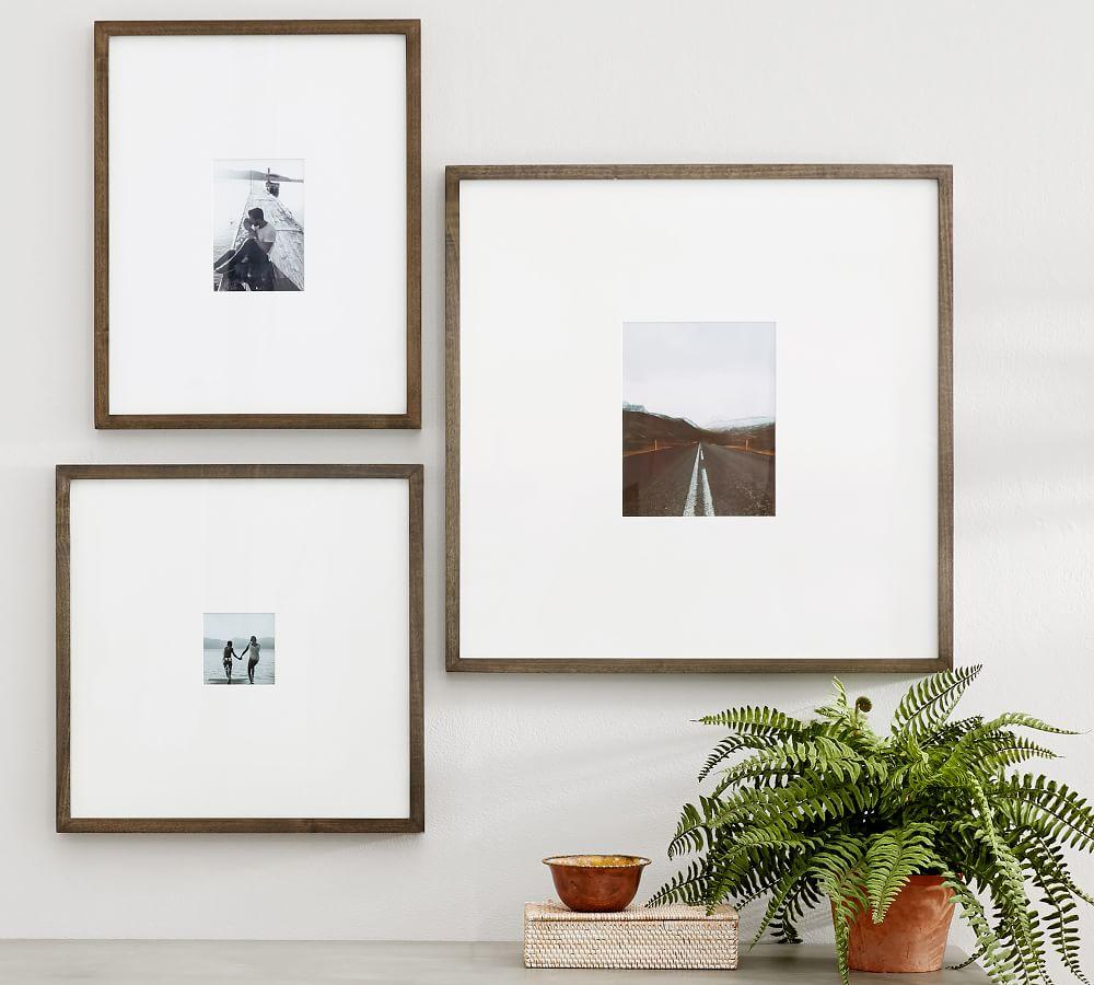 Wood Gallery Oversized Mat Frames Pottery Barn Ca