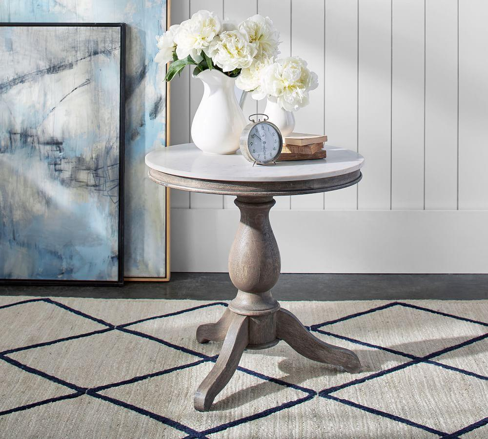 Alexandra Marble End Table