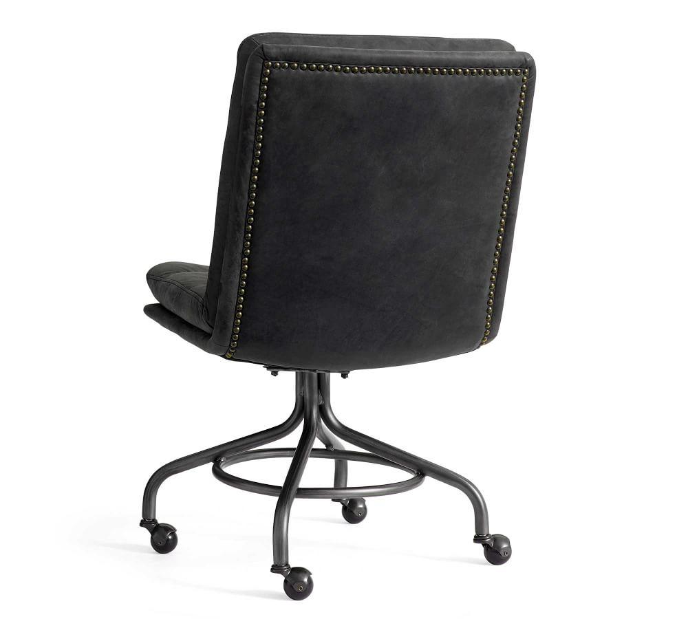 Degraw Leather Desk Chair