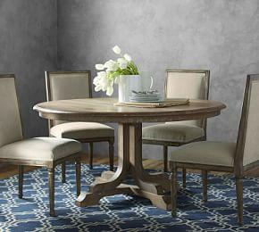 Linden Fixed Pedestal Table