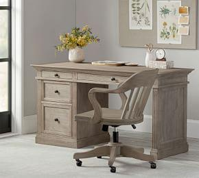 Livingston Small Desk, Gray
