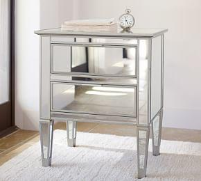 Park Mirrored Nightstand