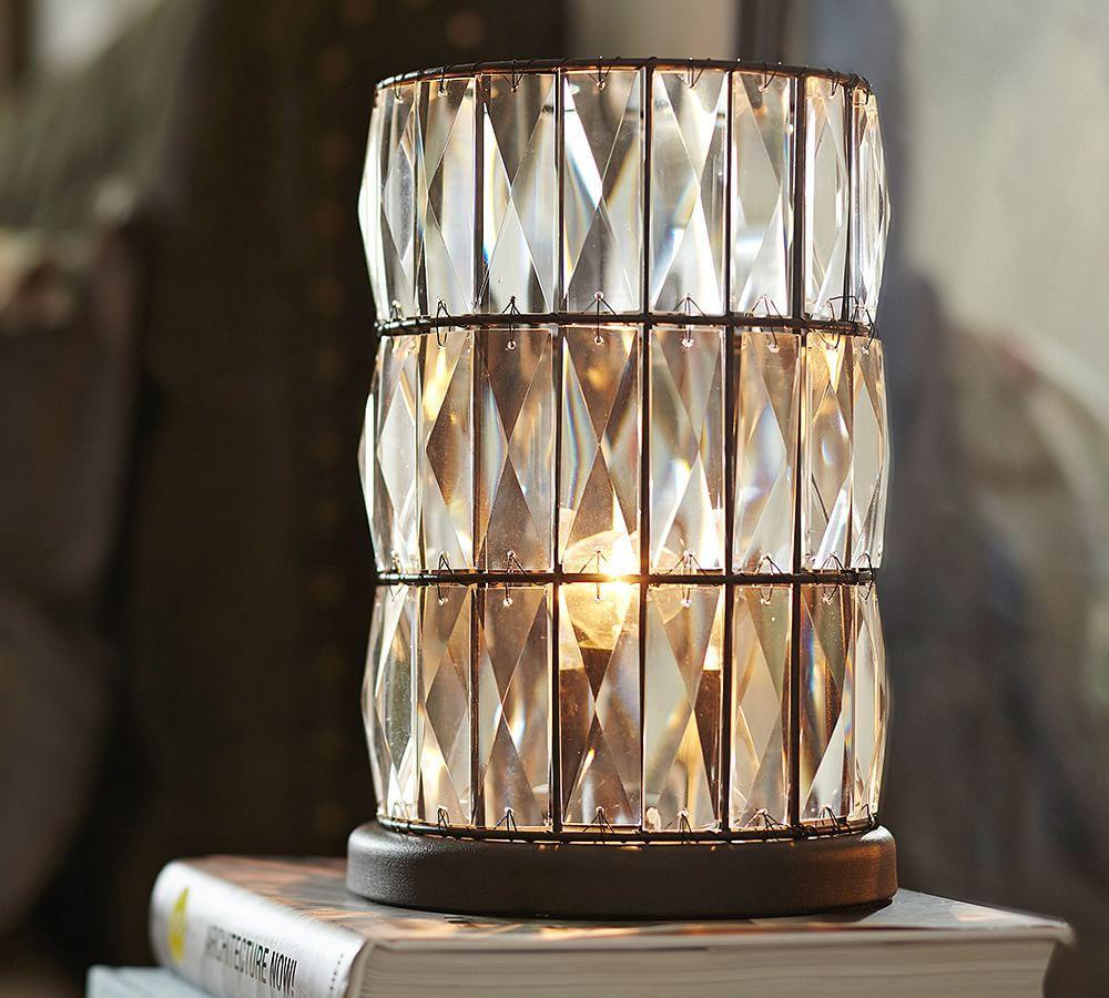 Adeline Crystal Ambient Accent Lamp