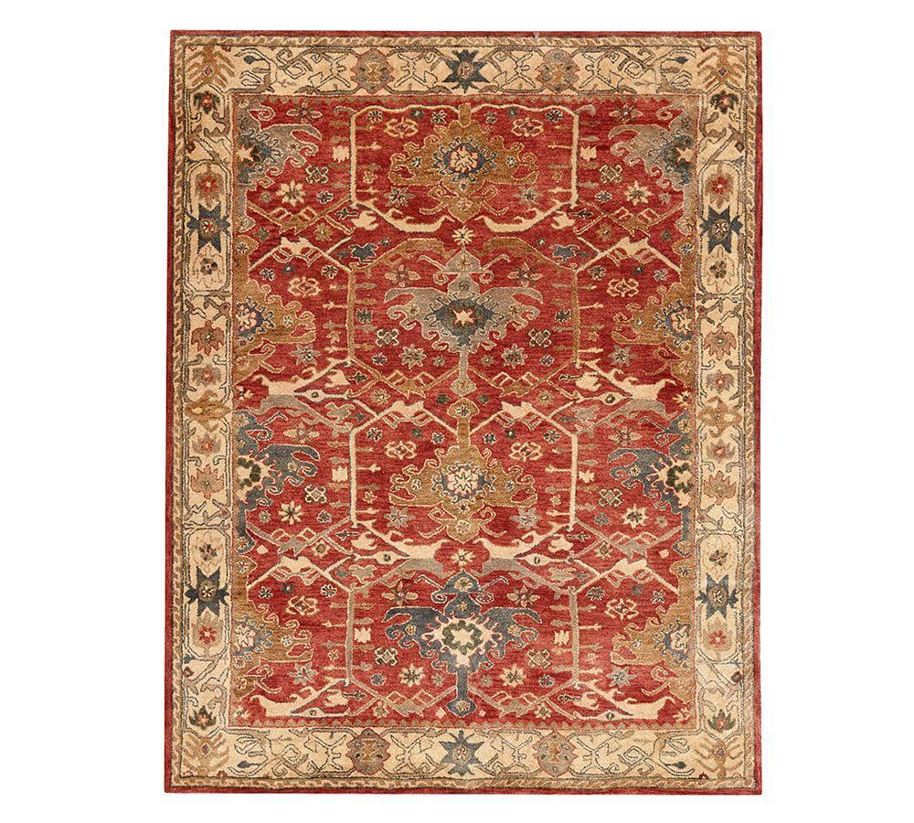 Channing Persian Style Rug Pottery Barn Ca