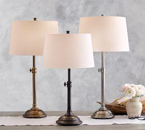 Chelsea Adjustable Table Lamp Base