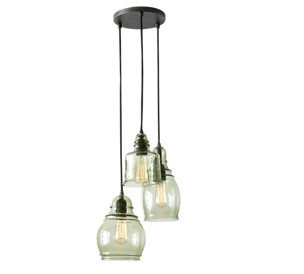 Paxton Glass 3-Light Pendant