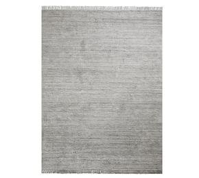 Easy Care Solid Shag Recycled Material Rug - Gray Multi