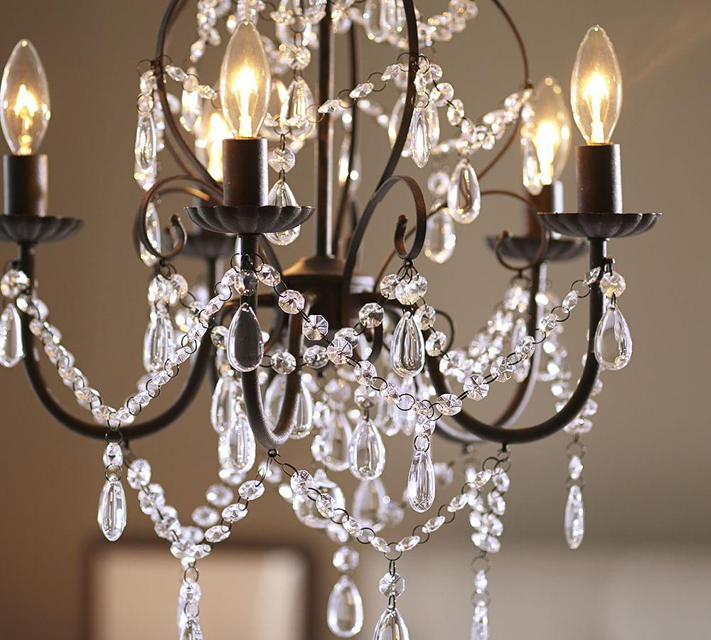 Paige Crystal Chandelier Pottery Barn Ca
