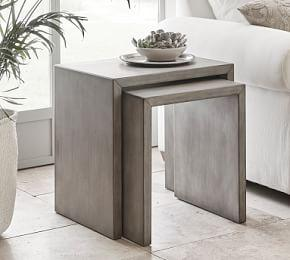 Byron Waterfall Nesting End Tables