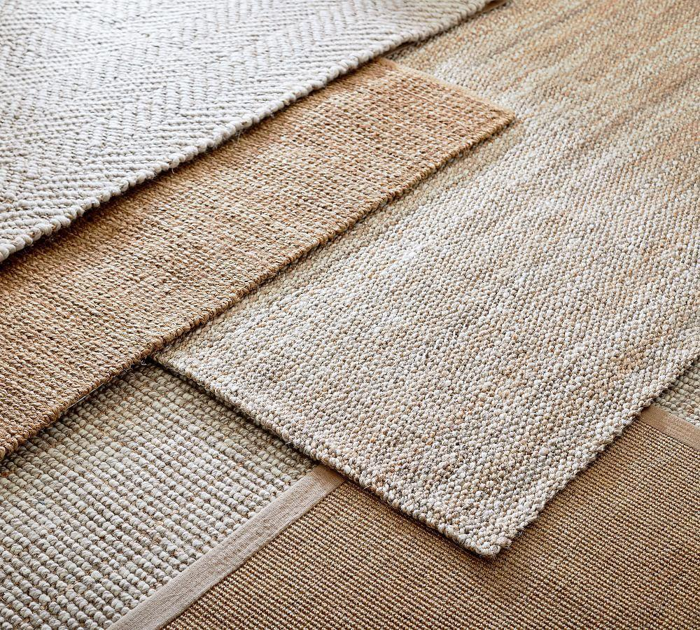 Newland Jute Rug - Heathered Natural