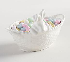 Bunny Basket Small Serve Bowl